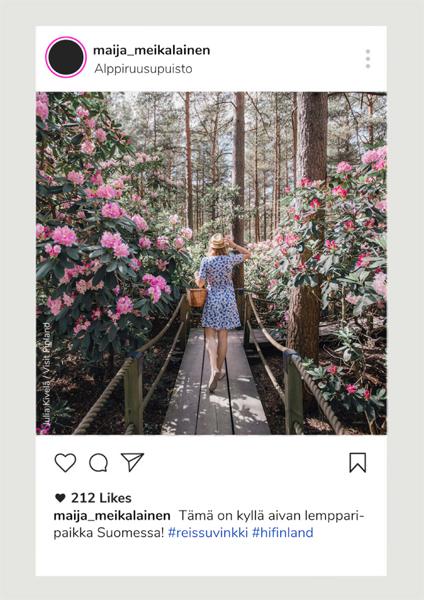 Hostellijärjestön Instagram kuva-arvonta