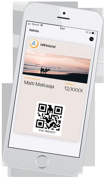 Kansainvälnen mobiilihostellikortti