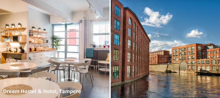 Tekemistä Tampereella, Dream Hostel & Hotel